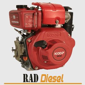 قیمت موتور دیزلی کوپ 5 اسب مدل KD170FE