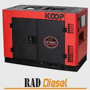 قیمت موتور برق دیزلی 16 کاوا کوپ
