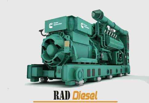 گازی به عنوان برق اضطراری کارخانه های بزرگ، بیمارستان ها، صنایع سنگین