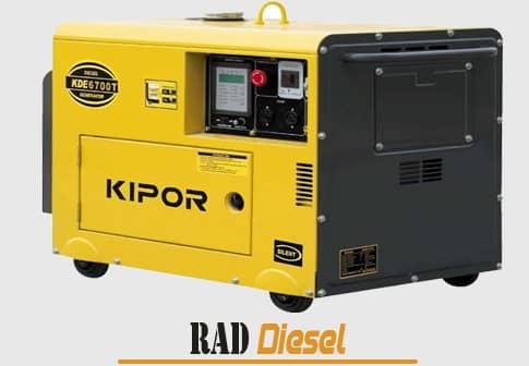برخورداری از ویژگی های موثر در موتور برق گازوئیلی