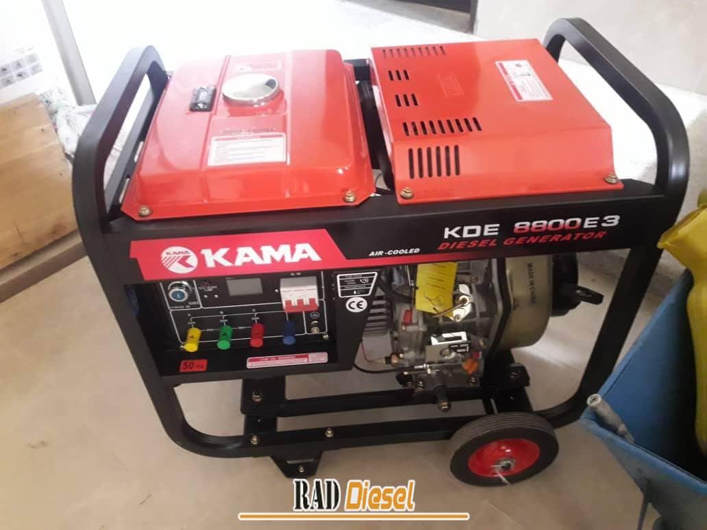 معرفی سیستم موتور برق گازوئیلی